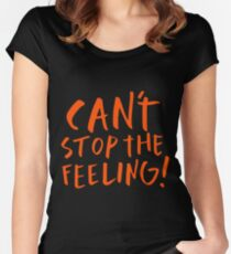 Justin Timberlake - Can't stop the feeling Women's Fitted Scoop T-Shirt