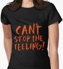 Justin Timberlake - Can't stop the feeling Womens Fitted T-Shirt