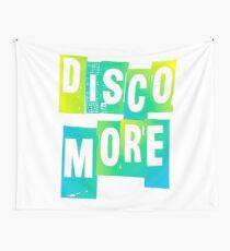 DISCO MORE | GREEN + BLUE Wall Tapestry