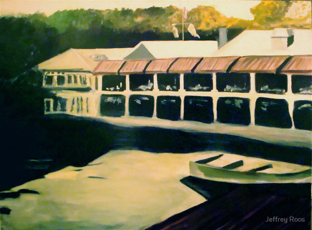 The Boathouse by Jeffrey Roos