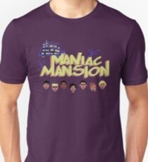 Gaming [C64] -  Maniac Mansion Unisex T-Shirt