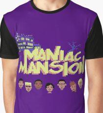 Gaming [C64] -  Maniac Mansion Graphic T-Shirt