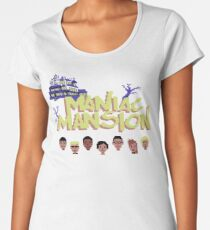 Gaming [C64] -  Maniac Mansion Women's Premium T-Shirt