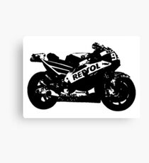 Honda RC213V 2017 MotoGP Bike Canvas Print