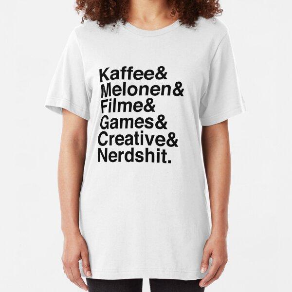Helveticashit. Slim Fit T-Shirt