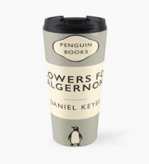 Penguin Classics Flowers for Algernon (World Affairs Colour-way alternative) Travel Mug
