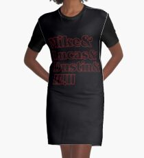 Stranger Squad Graphic T-Shirt Dress