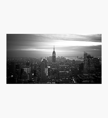 New York (h) Photographic Print