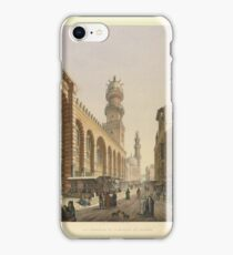 Pascal Xavier Coste, Complex of Sultan Qalawun iPhone Case/Skin