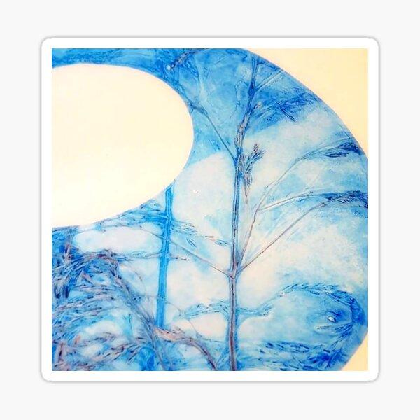 Summer Grasses - Blue Sticker