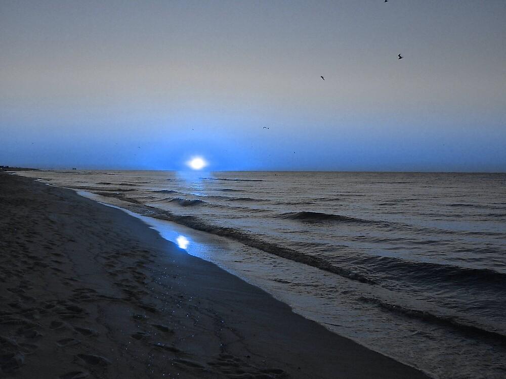 Blue Coast by Underthebamasky