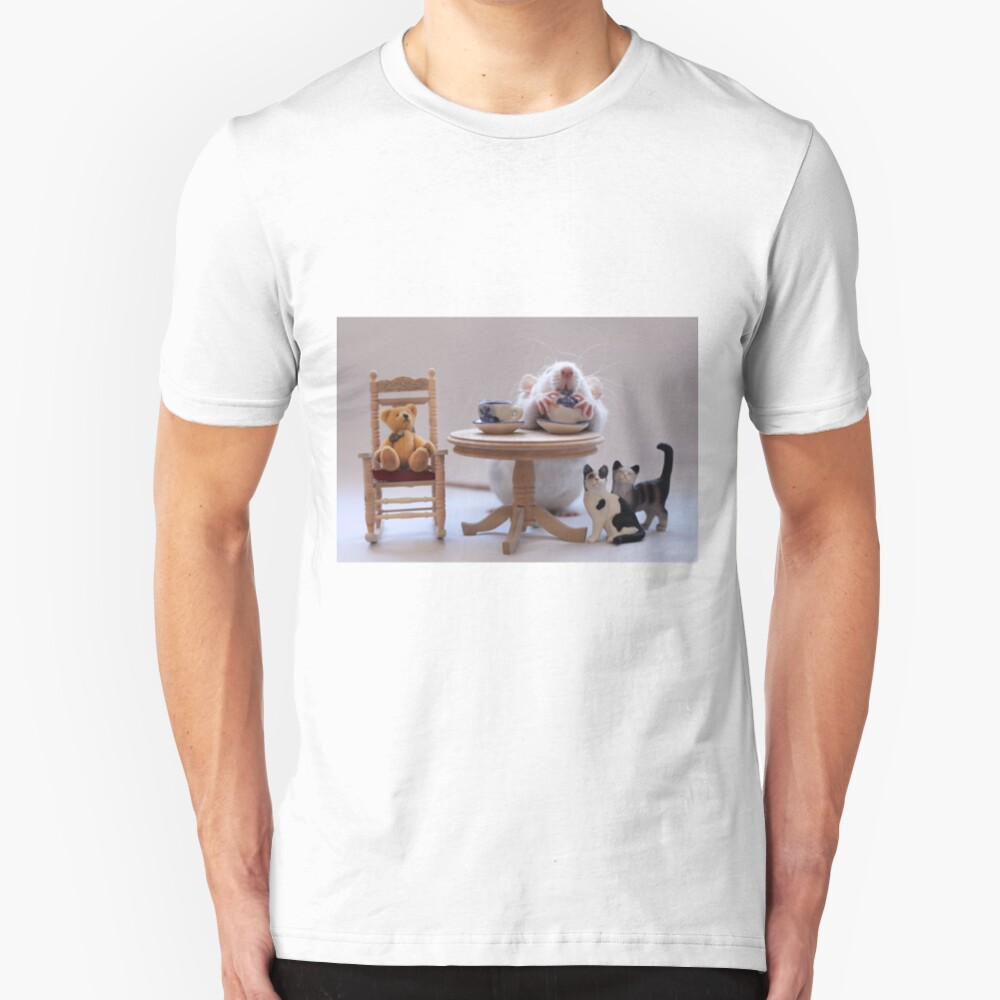 Another cup of tea :) Slim Fit T-Shirt