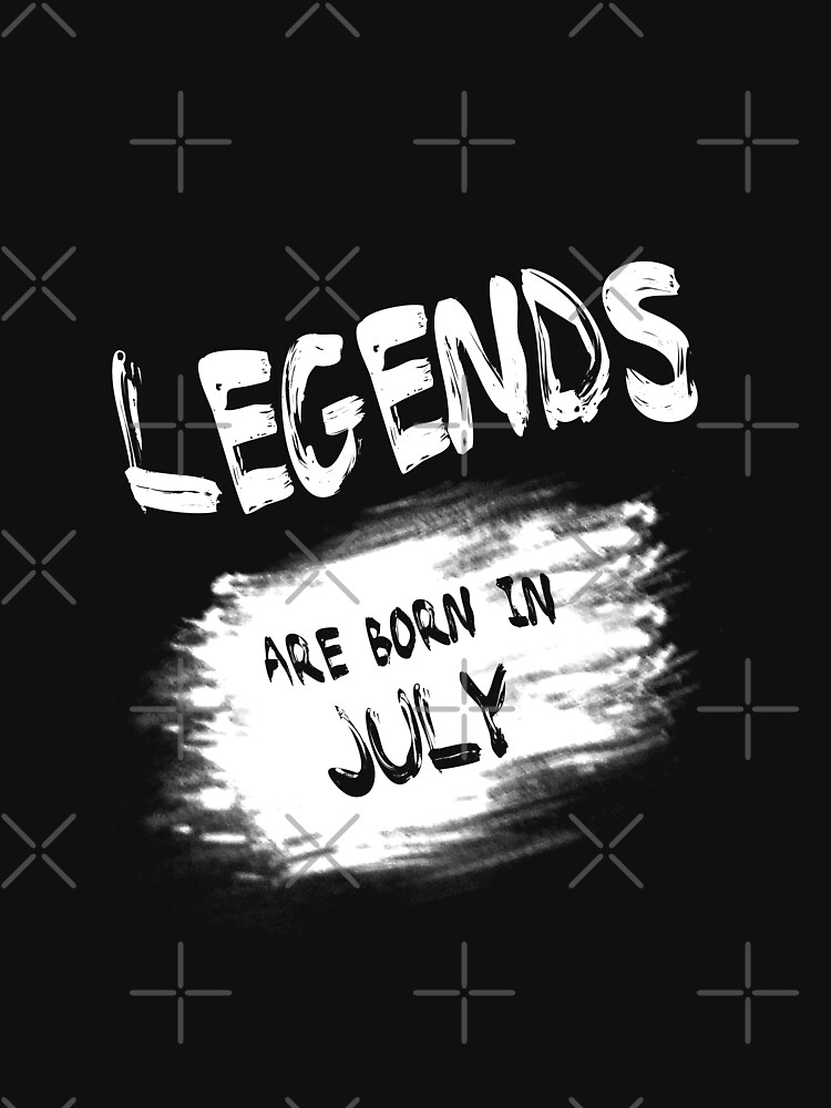 Legends are Born in July. by aashiarsh