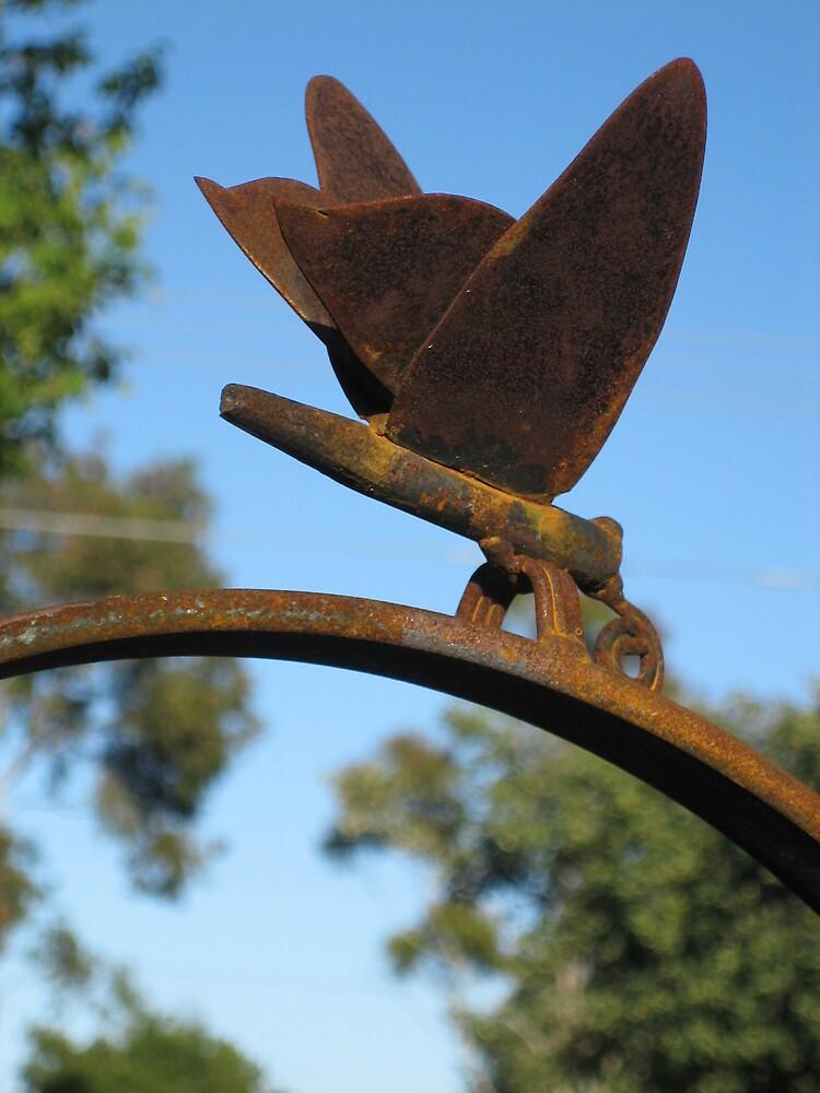 butterfly by sculpturedsteel