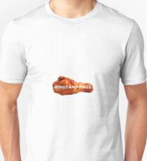 WINGS AND TINGS Unisex T-Shirt