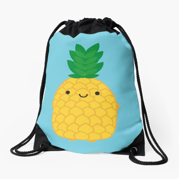 Kawaii Pineapple Drawstring Bag