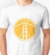 Warriors The Bridge - White on Gold T-Shirt