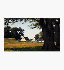 Axel Schovelin Summer Day Ermitagesletten Denmark Photographic Print