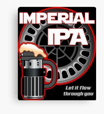 Dark Side Imperial IPA Canvas Print