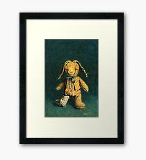 Zombie Bunny Framed Print