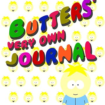 Butters very own journal - South park by cthulupie