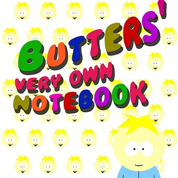Butters very own notebook - South park by cthulupie