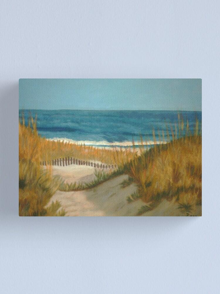 Alternate view of Between The Dunes Sand Dune Canvas Print