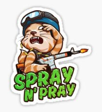 Spray N' Pray (CS:GO) Sticker