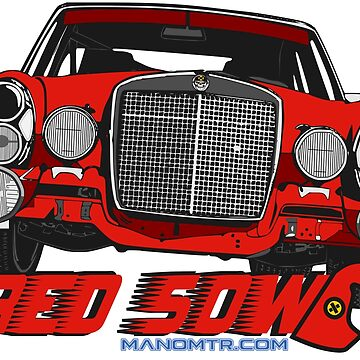 The only Red Sow by manomtr