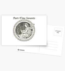 Part-Time Savants - Savant Design Postcards