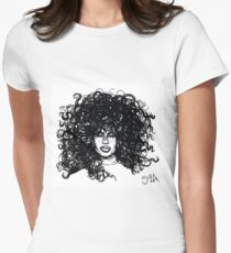 sza Women's Fitted T-Shirt