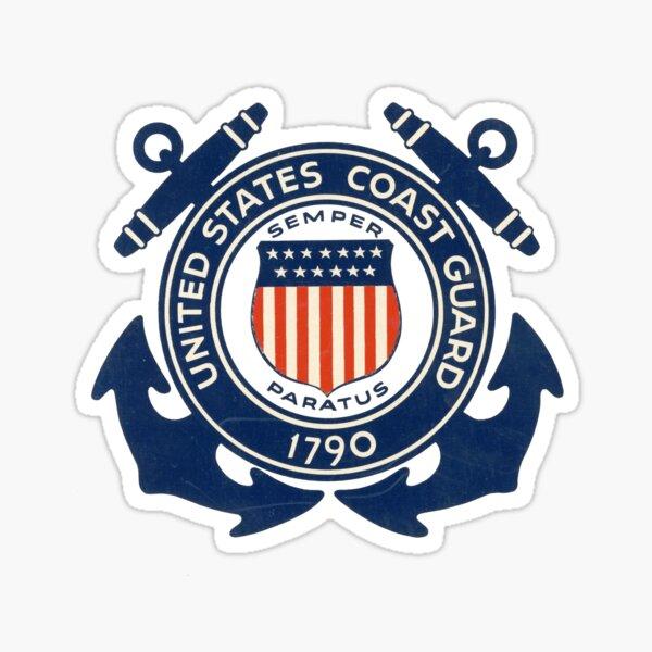 United States Coastguard - Emblem Sticker