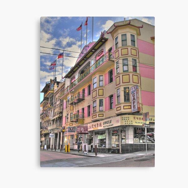 Postcard Chinatown Canvas Print