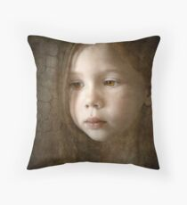 Renaissance Muse Throw Pillow