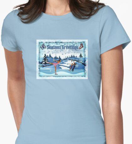 Skater's Seasons Greetings T-Shirt