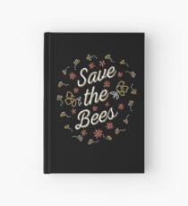 Save the Bees Hardcover Journal