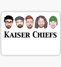 Kaiser Chiefs Line Up Sticker
