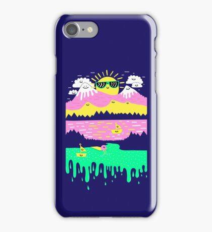 Happy Lake iPhone Case/Skin