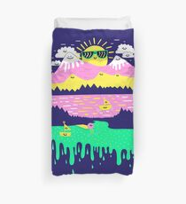 Happy Lake Duvet Cover