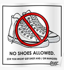 No Shoes Poster