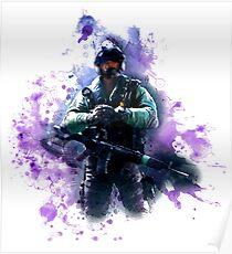 Rainbow Six Siege Jackal Painting Poster