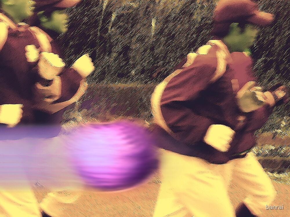 Racing the purple speedball heater..... by banrai