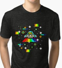 Cats invaders Tri-blend T-Shirt