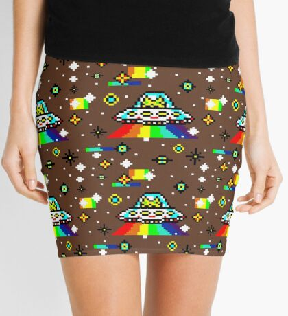 Cats invaders Mini Skirt