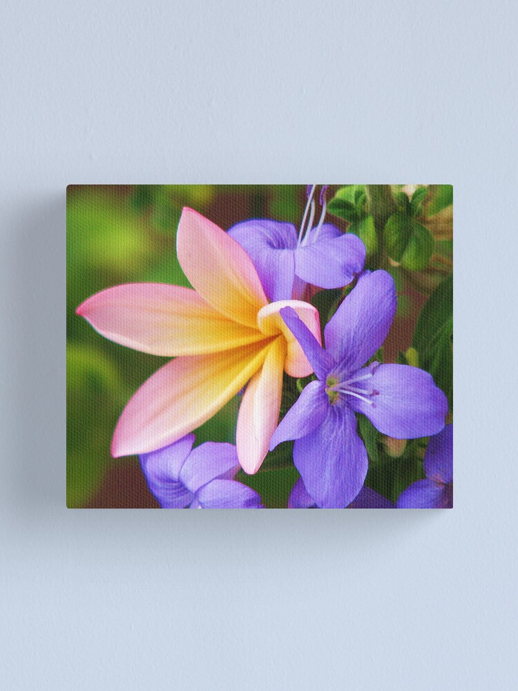 Alternate view of Floral Frieze Canvas Print