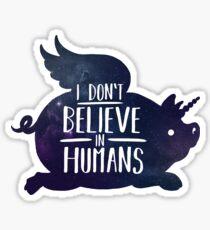 Pig wings Sticker