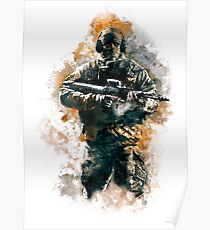 Rainbow Six Siege Glaz Painting Poster