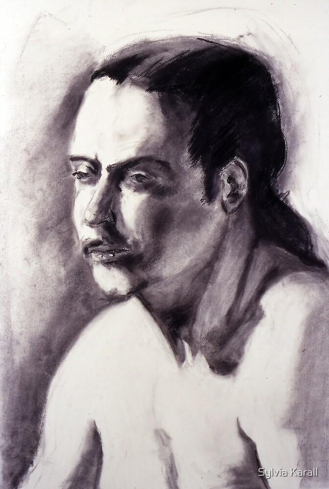 Portrait 022 by Sylvia Karall