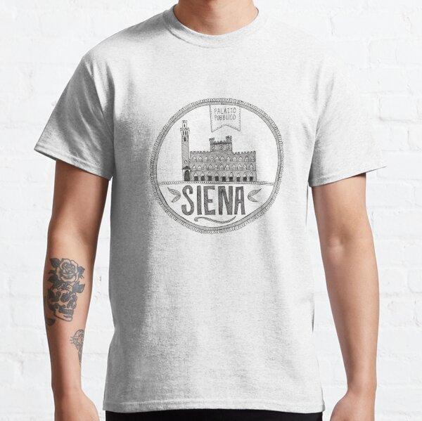Siena - Palazzo Pubblico Classic T-Shirt