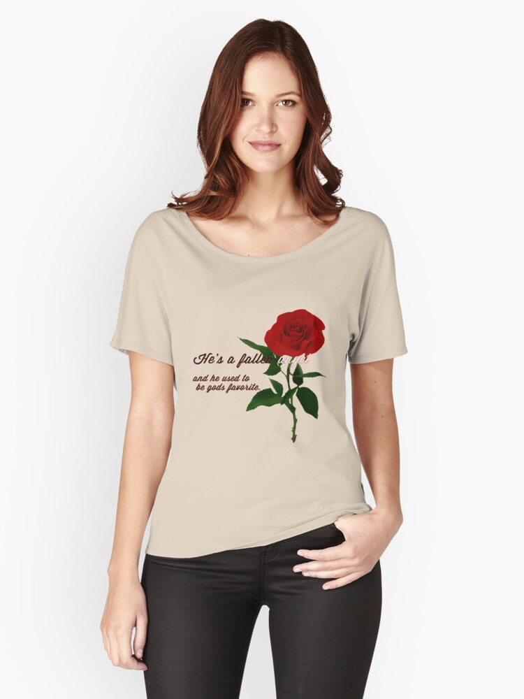 Gods favorite Women's Relaxed Fit T-Shirt Front